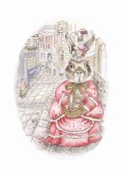 Rosie rabbit  shopping